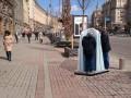 На Крещатике установили первый открытый писсуар - Парцхаладзе
