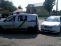 Под Харьковом девушка протаранила авто патрульных, пыталась уйти от погони