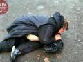 В Киеве пьяная женщина-водитель выпала из машины