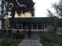 В Киеве бросили коктейли Молотова в Ощадбанк