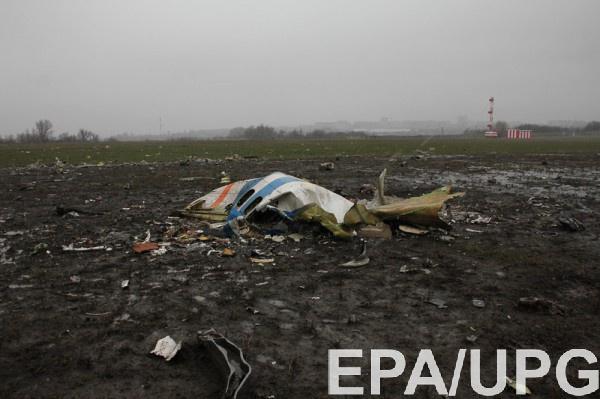 В районе крушение самолета были зафиксированы аномальные порывы ветра