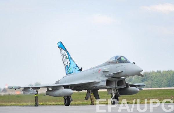 Истребитель Eurofighter Typhoon