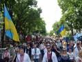 В вышиванках и Пересыпь, и Молдаванка: в Одессе прошел патриотический мегамарш