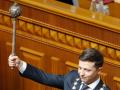 Зеленский и Порошенко записали новогодние поздравления