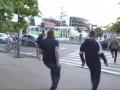 Появилось видео стрельбы на Барабашово в Харькове