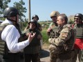 Военно-политические эксперты США посетили Широкино