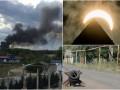 Итоги 21 августа: пожар на Шулявке, великое американское затмение и обострение на Донбассе