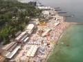 Автомайдан показал заполненные пляжи Одессы и