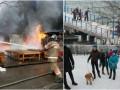 Итоги выходных: Новолуганское под контролем ВСУ, крушение Ту-154 в РФ и пожар на рынке в Киеве