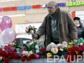 Жители Москвы скорбят по убитой девочке