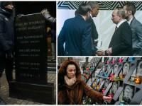 День в фото: памятник под ГПУ, рукопожатие Обамы и Путина и память жертв Майдана