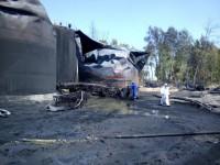 ГСЧС: На нефтебазе под Киевом продолжает гореть один резервуар