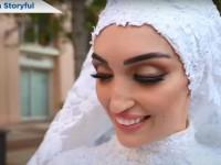 В Сети показали видео свадьбы в Бейруте во время взрыва