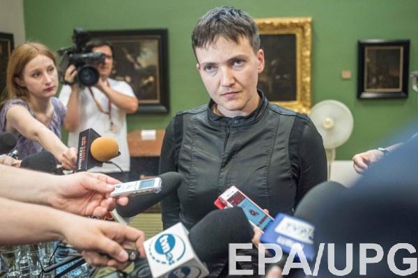 Савченко уверяет, что приехала к боевикам в Донецк спасать пленных