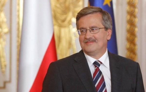 Лидер Польши Бронислав Коморовский