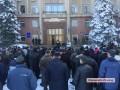 Военные пенсионеры Николаева вышли на митинг