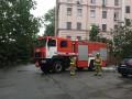 В Киеве произошел пожар в Александровской больнице