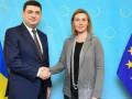 Гройсман и Могерини проведут Совет ассоциации Украина - ЕС