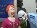 «Оборотни в погонах» подарили резиновых кукол руководству МВД (ФОТО, ВИДЕО)