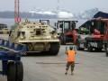 Третья пехотная дивизия США с бронетехникой прибывает в Латвию