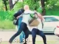 Шабунин возле военкомата ударил луганского блогера