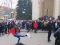 В Полтаве задержание полицией провокаторов из Нацкорпуса встретили аплодисментами