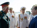 Медведев посетил парад флота РФ в Севастополе: МИД Украины выразил протест