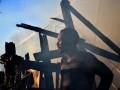 В Греции произошли столкновения и пожар в лагере мигрантов