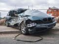 В Киеве автомобиль BMW влетел в маршрутку