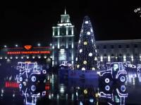 Танцуют все: белорусские тракторы показали танцевальное шоу