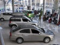 Из киевского автосалона угнали 4 элитных автомобиля