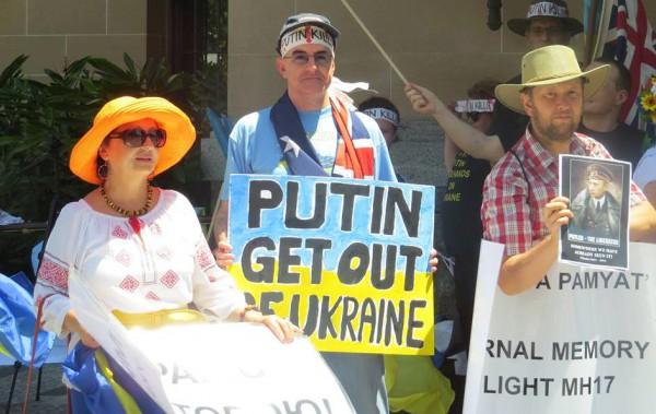 Митинг в Австралии