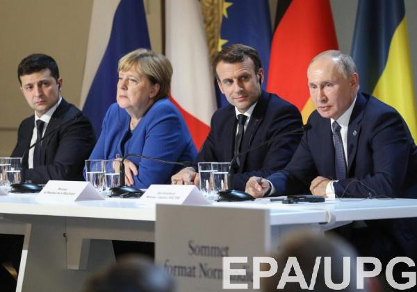 Лидеры Украины и России договорились о прекращении огня