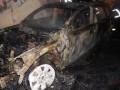 В Ровно бизнесмену сожгли внедорожник Audi