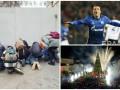День в фото: журналисты в ожидании Януковича, гол Коноплянки и елка в Ливане