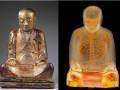 Внутри китайской статуи Будды обнаружили мумию монаха
