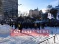 В Киеве митинговали против закона о пьяных за рулем