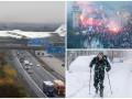 День в фото: украинская Мрия в Германии, Марш независимости в Польше и снег в Швеции