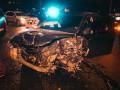 В Киеве не разминулись Skoda и Mitsubishi, пострадала девушка