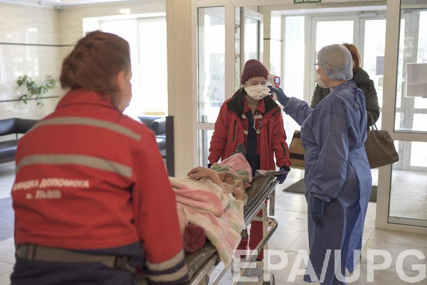 В Киеве растет число зараженных коронавирусом