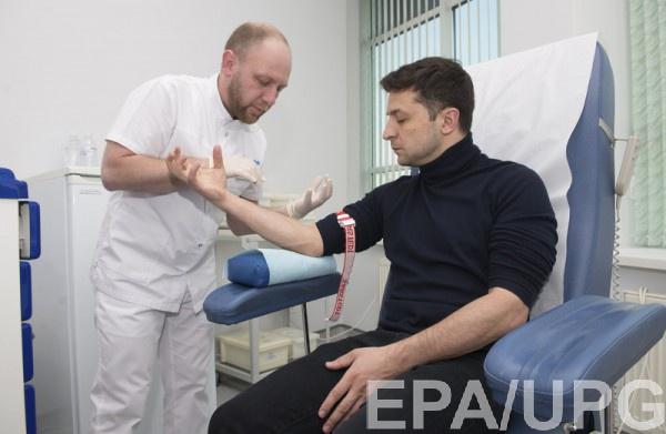 """Зеленский візвал новій скандал """"результатами"""" анализов"""