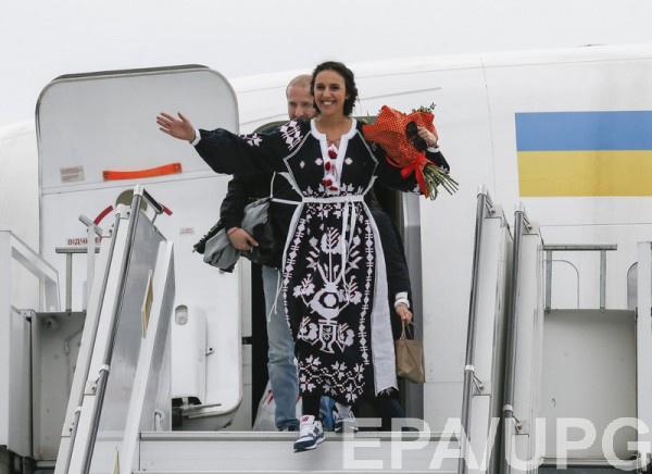 Джамала заняла первое место в конкурсе Евровидение 2016