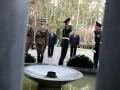 Янукович и Коморовский открыли Мемориал жертвам тоталитаризма в Быковне