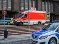 В Германии полицейский застрелил мужчину, напавшего на пассажира поезда