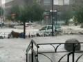 Мощный ливень затопил Мадрид