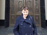 Савченко прилетела в Москву