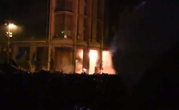 Турчинов получил на Майдане огнестрельное ранение