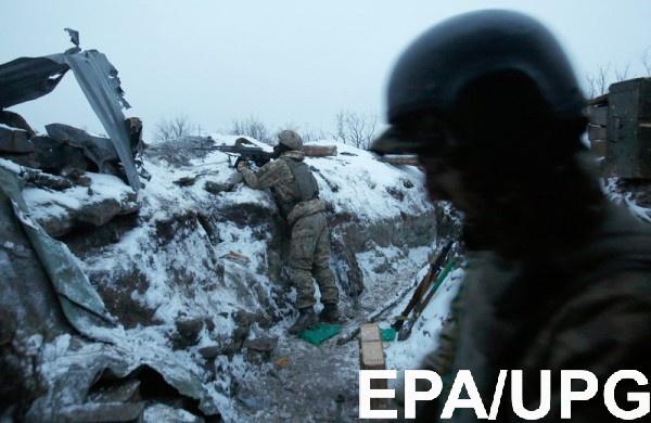 В зоне АТО ранены 18 военных