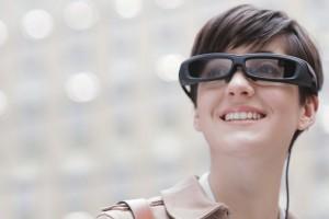 Sony ��������� ���� ����������� ���������� SmartEyeglass