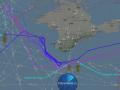 Три американских самолета патрулируют Черное море